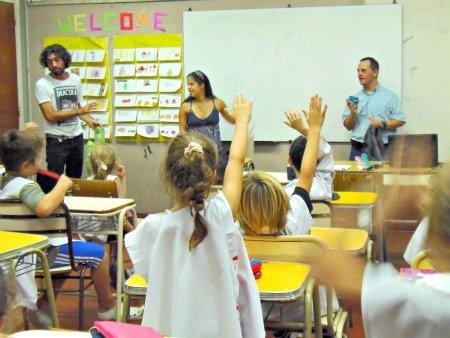 Alumnos Ciudadanos de ASDRA y Cascos Verdes
