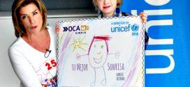 Ramiro Fridman, autor de la Estampilla Solidaria a beneficio de Unicef