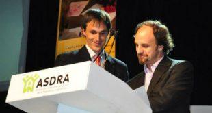 Enzo Pagani junto a ASDRA