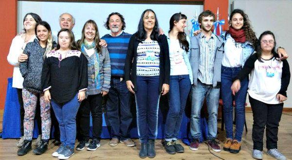 Familias organizadoras del Encuentro Internacional en Gualeguaychú