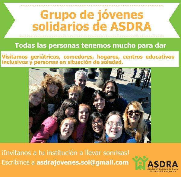 Jóvenes solidarios de ASDRA
