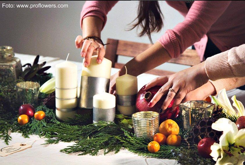 Encuentro de arreglos de navidad