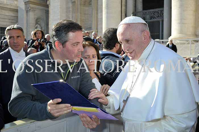 ASDRA junto al Papa Francisco