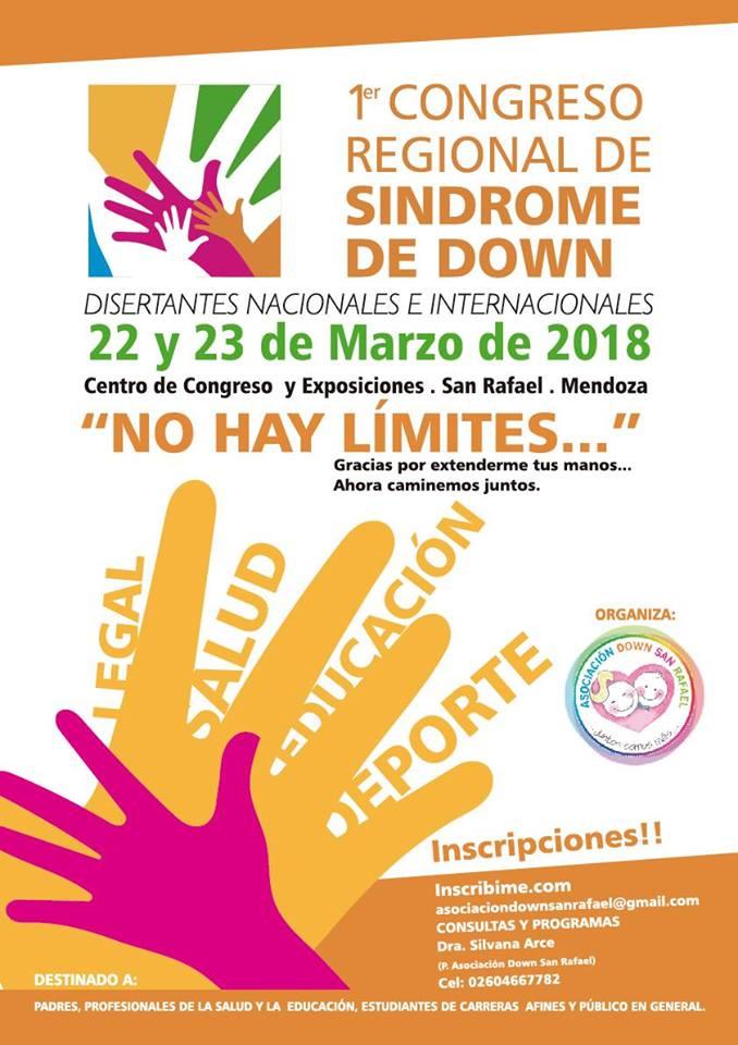 Congreso Regional sobre Síndrome de Down en San Rafael