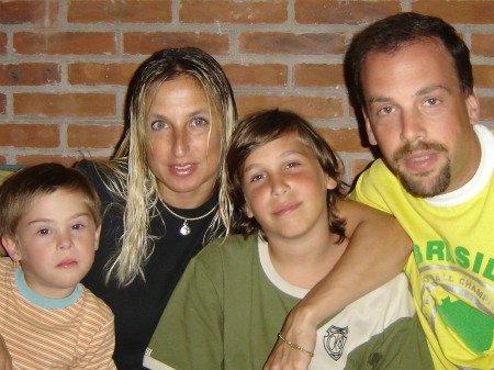 Familia con un hijo con síndrome de Down