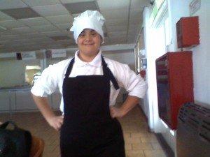 Soledad, trabajadora con discapacidad intelectual