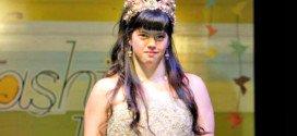 Leila, joven con síndrome de Down