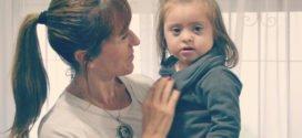 Faustina, niña con síndrome de Down