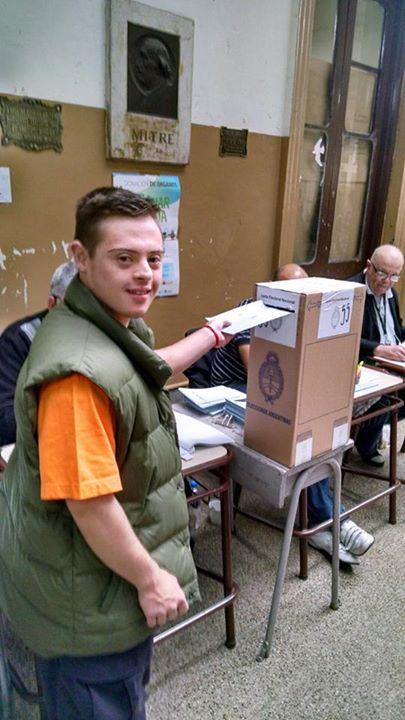 Las personas con síndrome de Down pueden votar