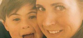 Sawyer y su mamá, Jeniffer