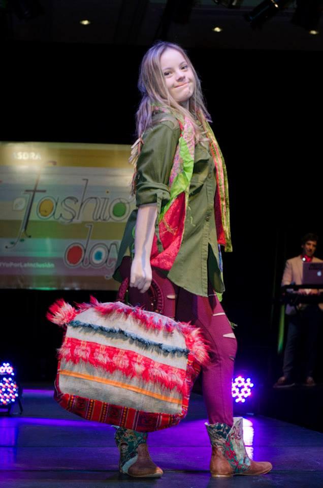 Sofía Yosa en el ASDRA Fashion Day
