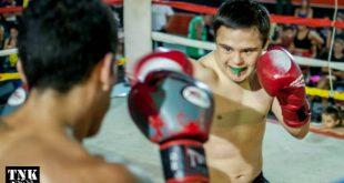 Competencia inclusiva de kick boxing