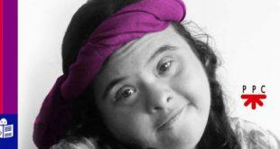 María Etcheber, escritora con síndrome de Down