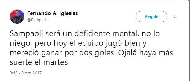 Publicación de Fernando Iglesias