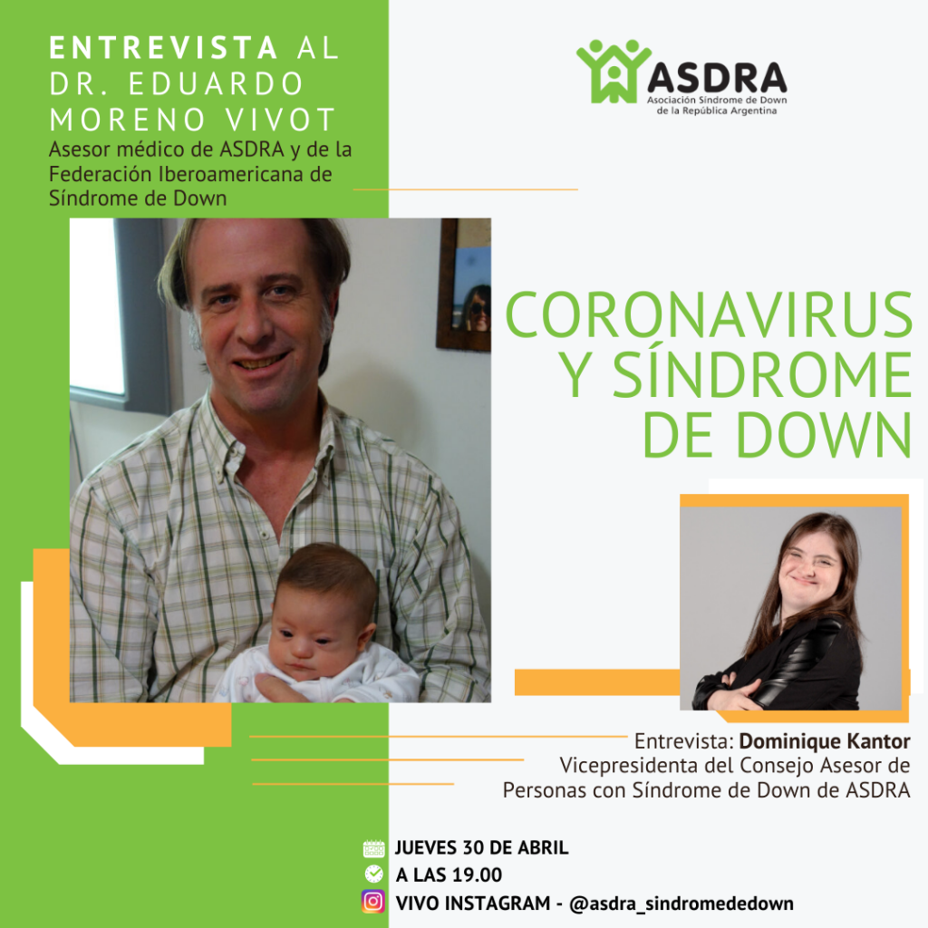 Coronavirus y síndrome de Down