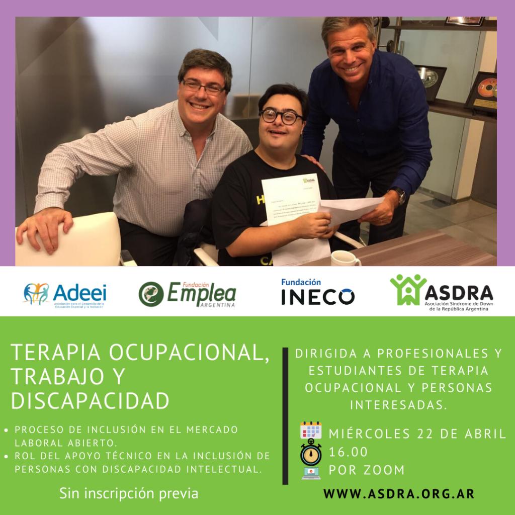 Terapia ocupacional, trabajo y discapacidad