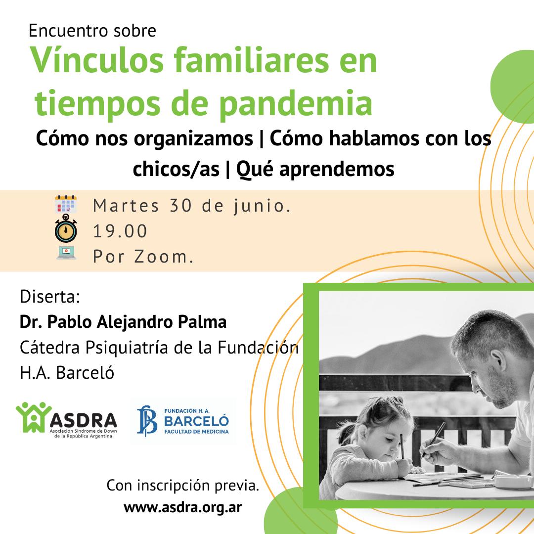 Vínculos familiares en tiempos de pandemia