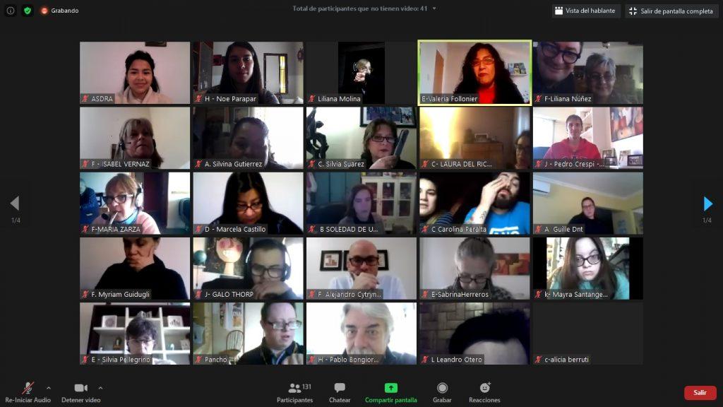 Jornada virtual de familias