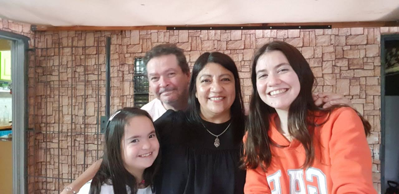Mili y su familia