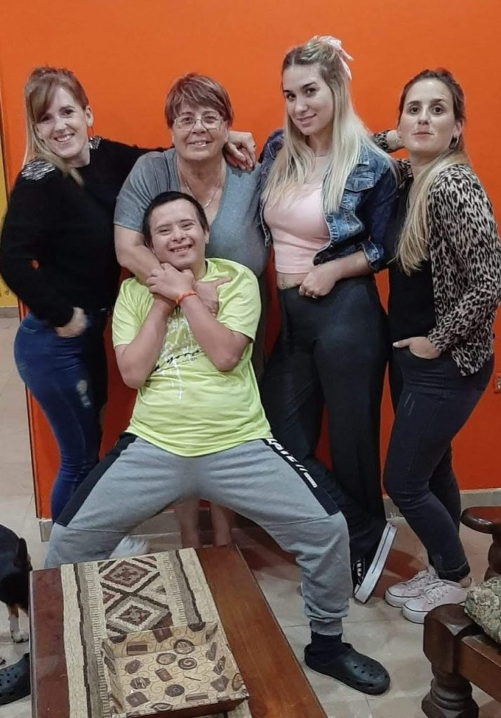 Javier y familia