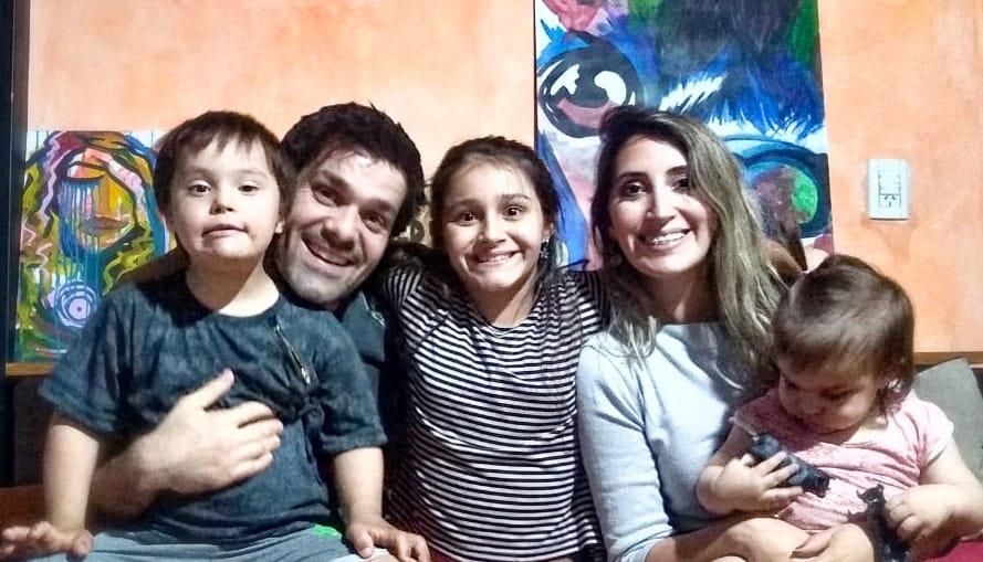 Bauti y su familia